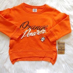 🆕 Girls orange sweatshirt